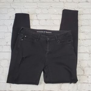Articles Of Society Black Distressed Jeans 29 Pant